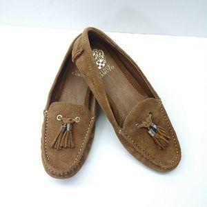 NWOT Vince Camuto Piercee Tassel leather loafers